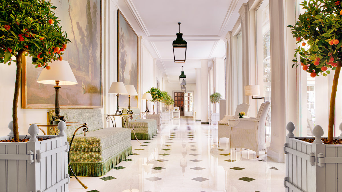 Cafe Antonia Le Bristol Hotel Paris Luxe Diary