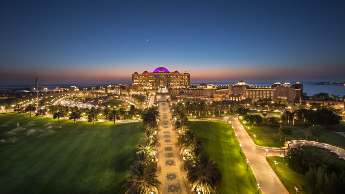 Emirates Palace Luxe Diary New Year 2016