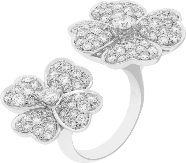 Van Cleef Luxe Diary White Diamonds