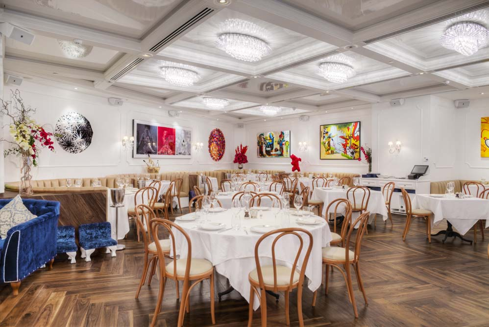 Bistrot Bagatelle Luxe Diary French night review