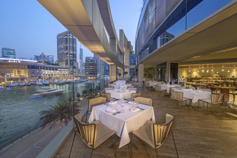marina social dubai club august the luxe diary terrace