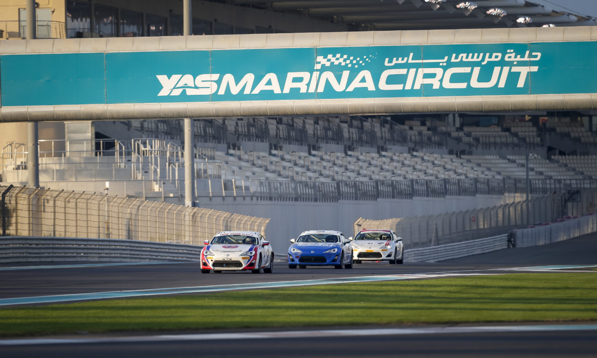 Trd 86 Cup Opens The Season At Yas Marina Circuit Luxe Diary In A Series Opener Will Run From Friday 27th To Saturday 28th October With Return Of Popular Racing Held Under Umbrella Motor