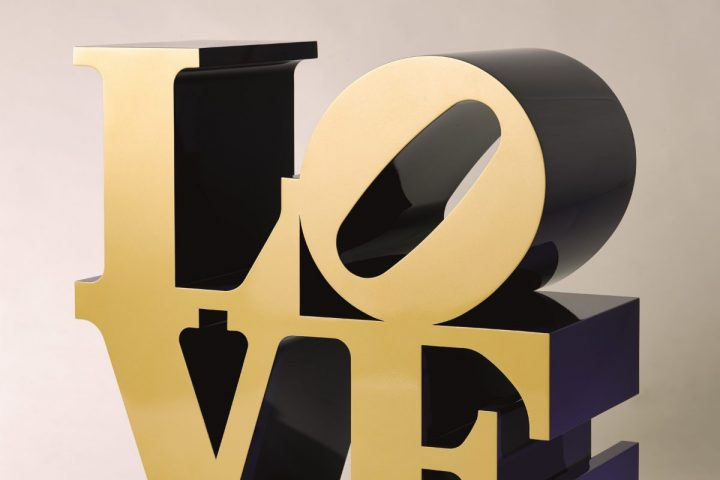 Love Gold Exhibition at Opera Gallery