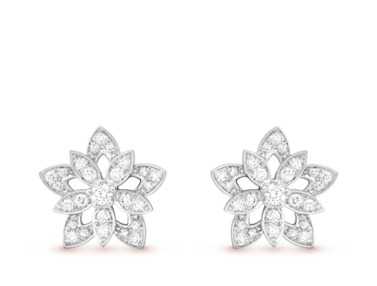 Lotus Earrings - Van Cleef & Arpels