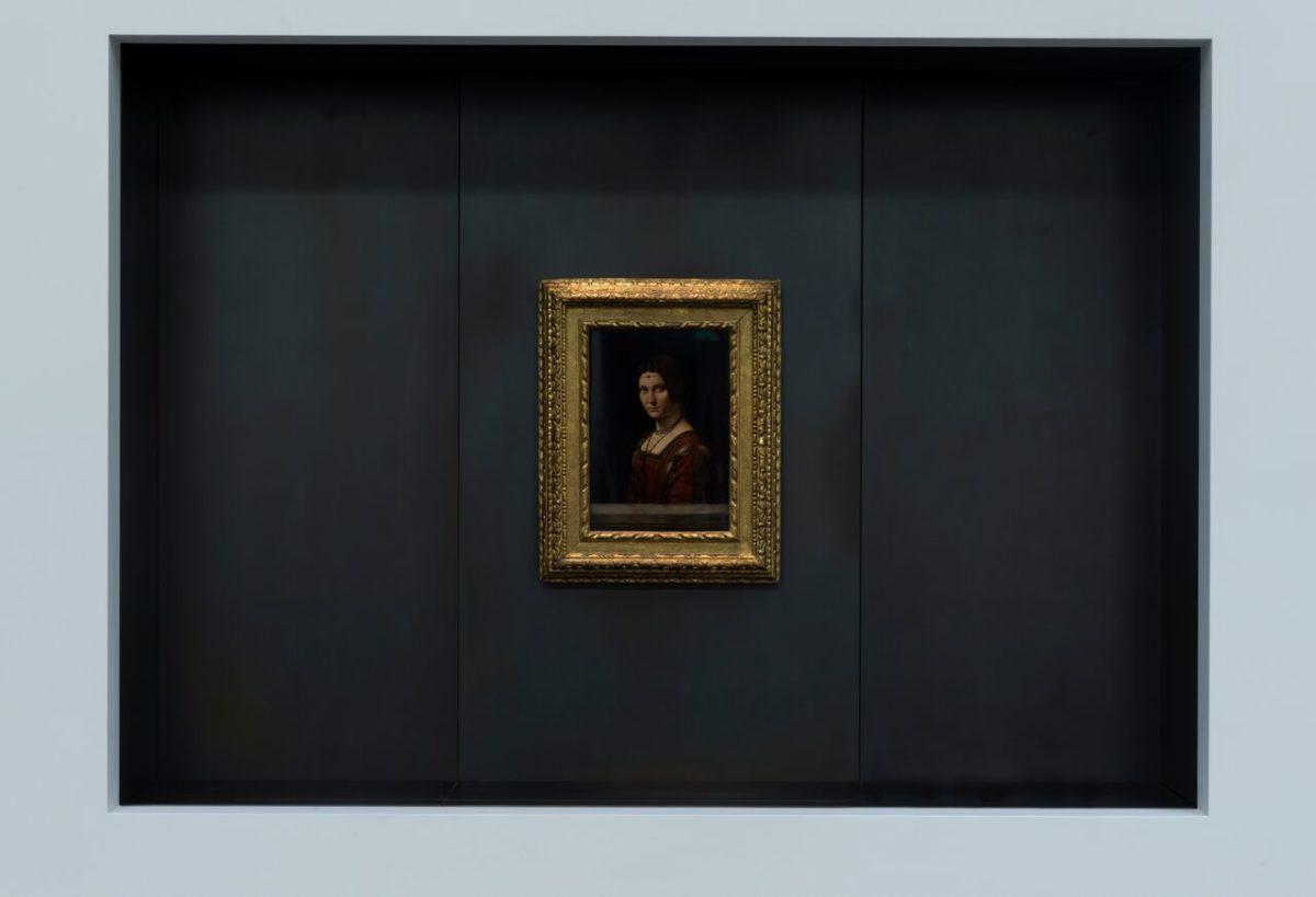Leonardo da Vinci - 'La Belle Ferronière'