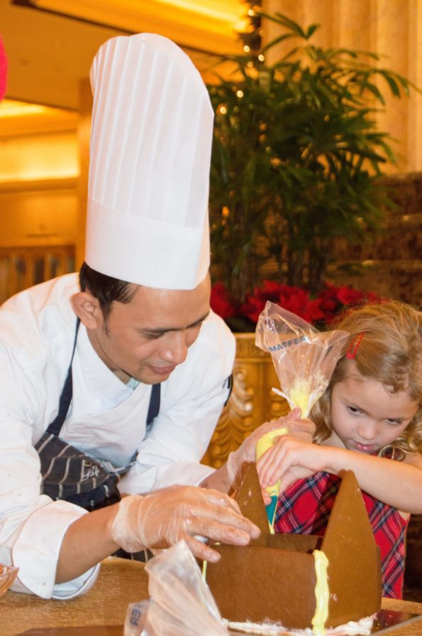 Emirates Palace Gingerbread Luxe Diary