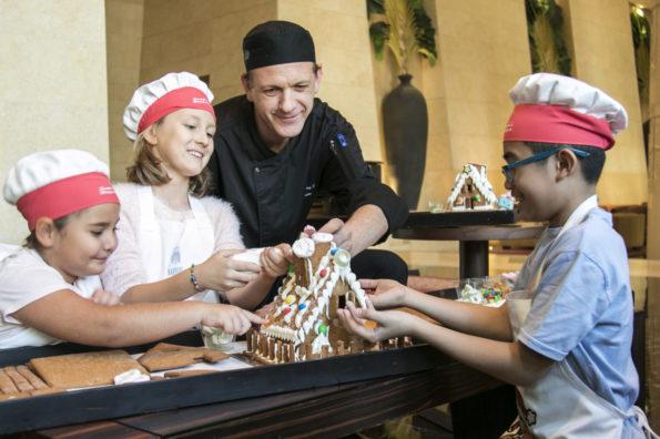 Raffles Dubai Gingerbread