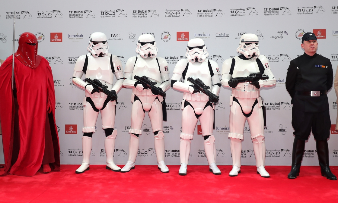 Red Carpet Star Wars Rogue One DIFF 2016