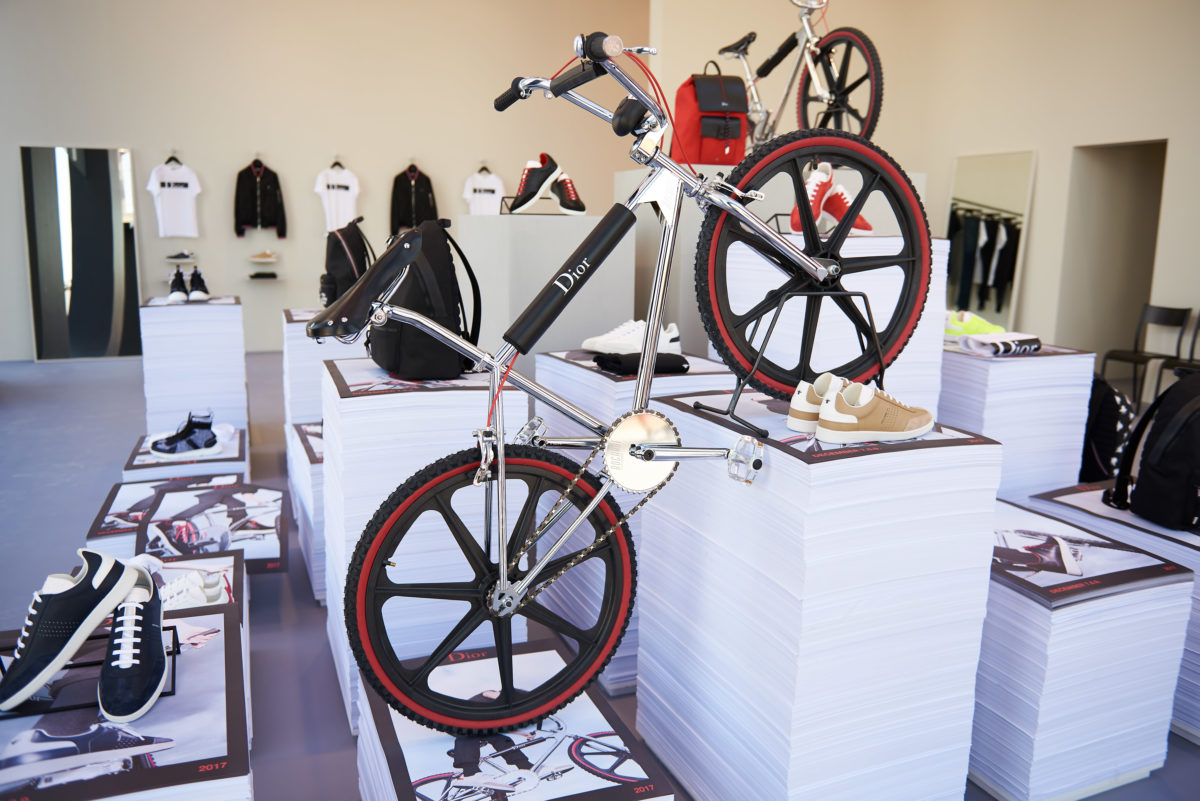 6fd28586b0b Dior Homme launches a very limited edition BMX bike in collaboration which  French manufacturer Bogarde. Dior Sole DXB Luxe Diary