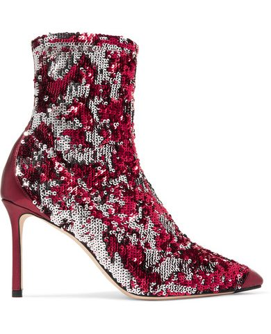 Jimmy Choo Boots Red