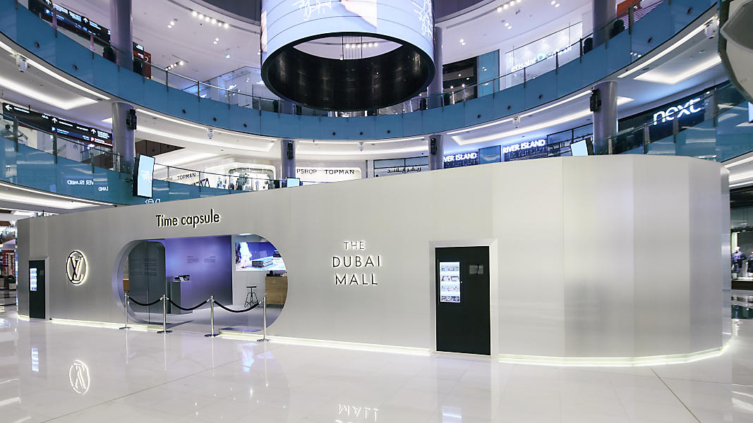 Louis Vuitton Time Capsule Dubai Mall