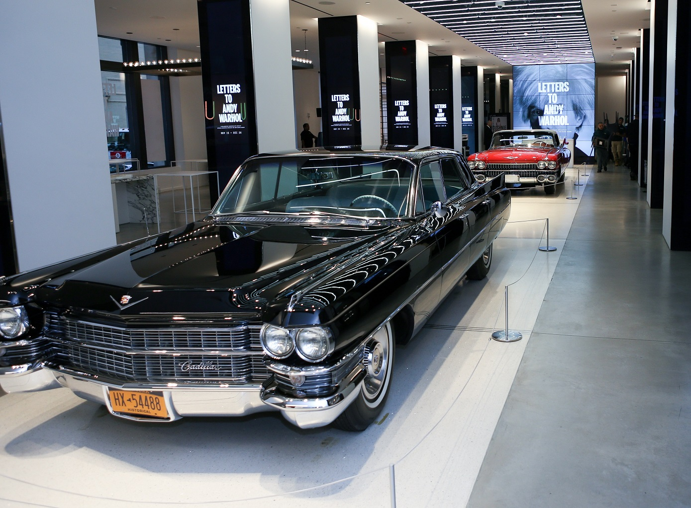 Cadillac Letters Andy Warhol at Sole DXB The Luxe Diary
