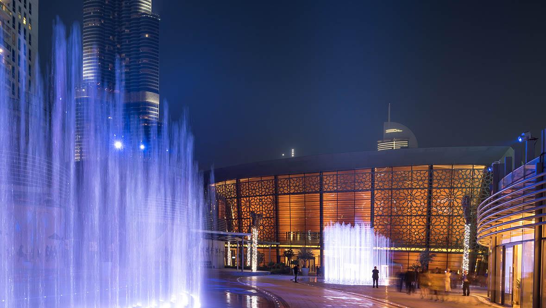 Dubai Opera New year's Eve Gala