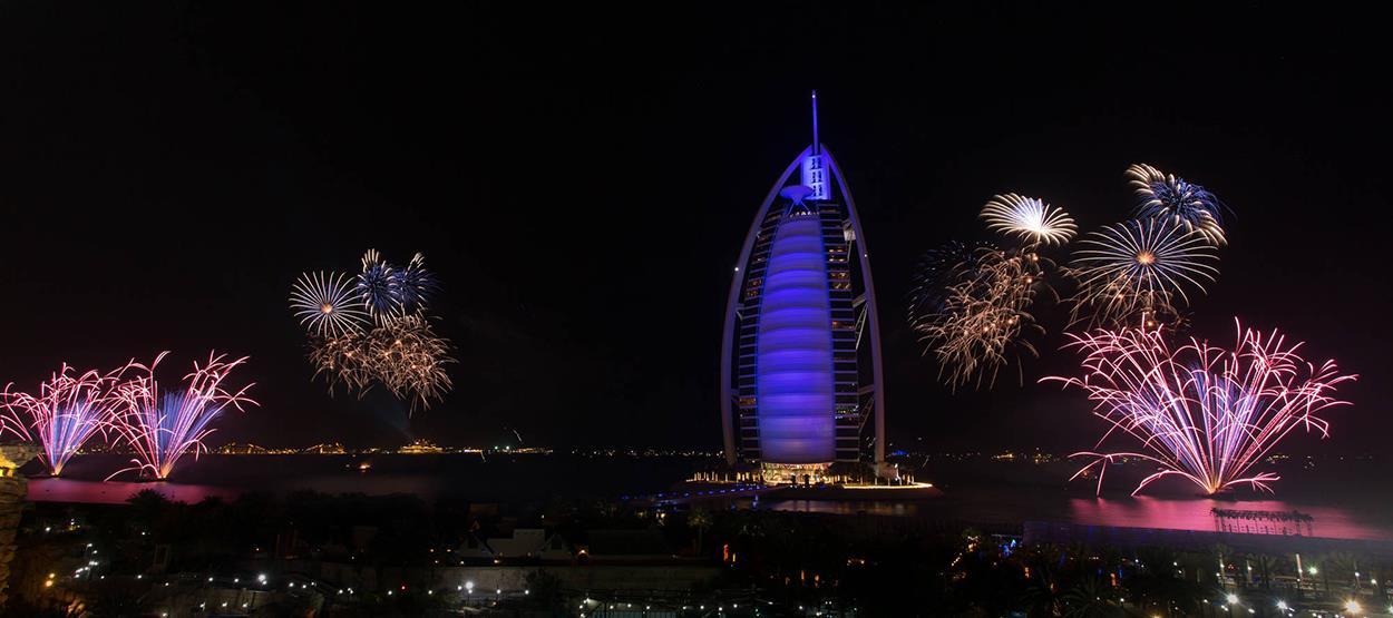 Burj El Arab Jumeirah New Year's Eve