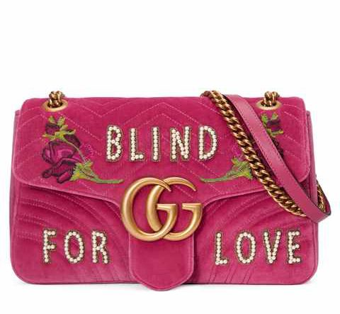 Bag Gucci Blind for Love - The Luxe Diary's Valentine's Gift List