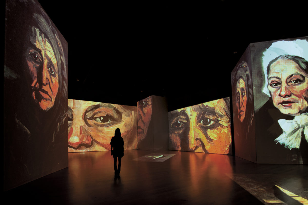 Van Gogh Alive Exhibition Abu Dhabi Dubai Luxe Diary
