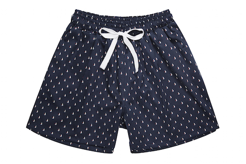 Pyjamas Men Sail Boat Short, Jasmine & Will - The Luxe Diary's Valentine's Gift List