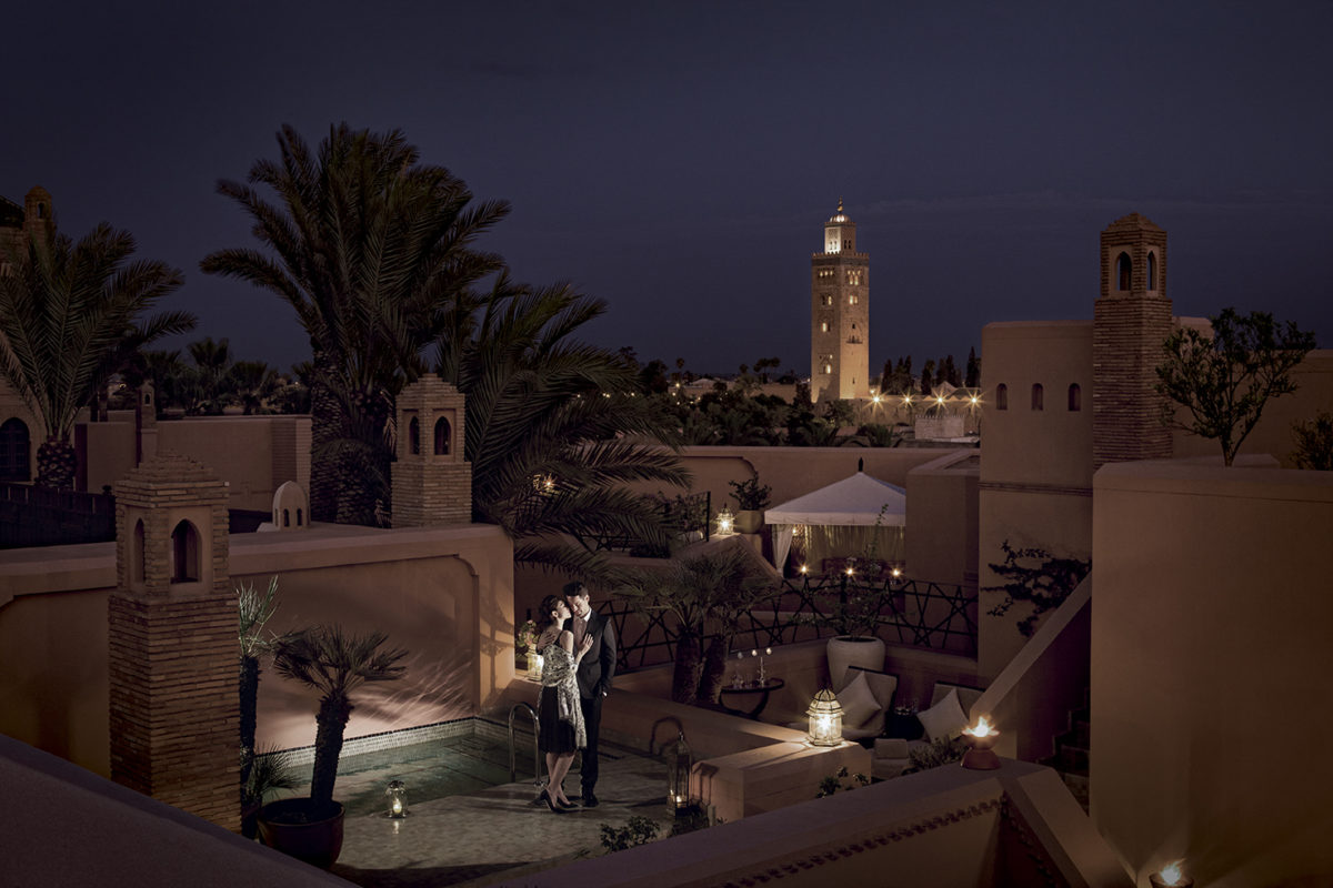 Valentine's Day at Royal Mansour Marrakech