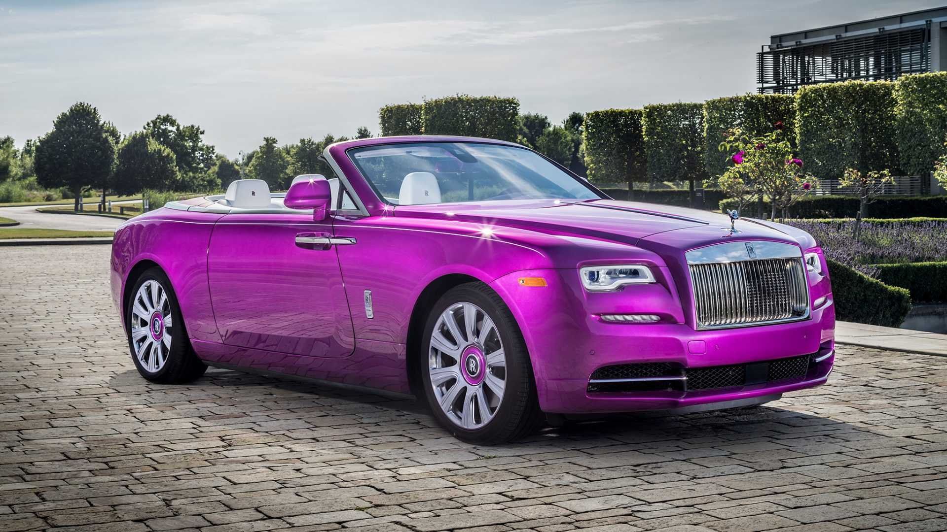 Fux Fuxia Dawn Rolls Royce - The Luxe Diary's Valentine's Gift List