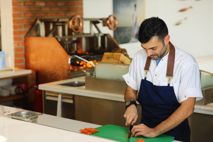 The Fish House's Head Chef - Matteo Guerra