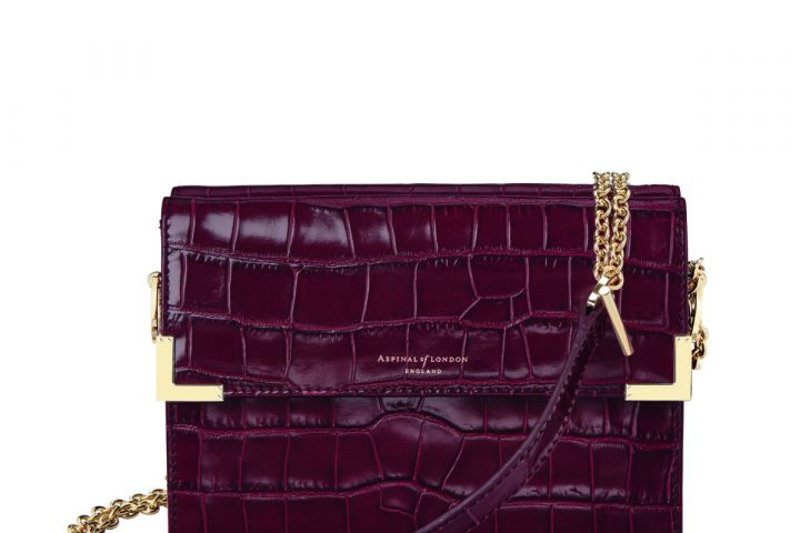 Chelsea Bag Bordeaux - Aspinal SS18