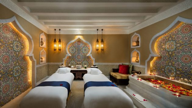 Emirates Palace Spa Luxe Diary