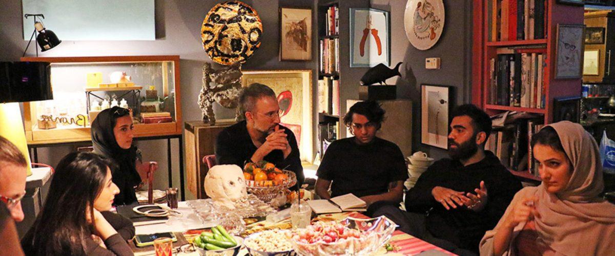 Art Week Alserkal Avenue Artist Talk Practicing Art in the UAE