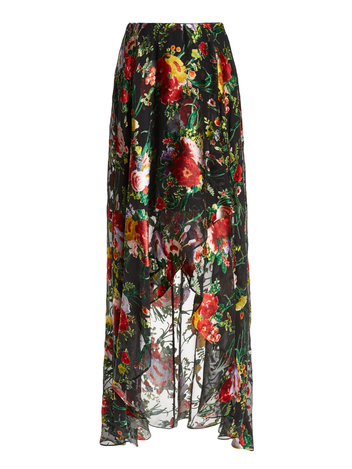 Blooming Bouquet Skirt Alice & Olivia