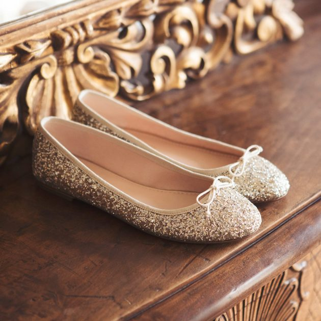 House of Ballerinas Celestine Gold & Silver glitter