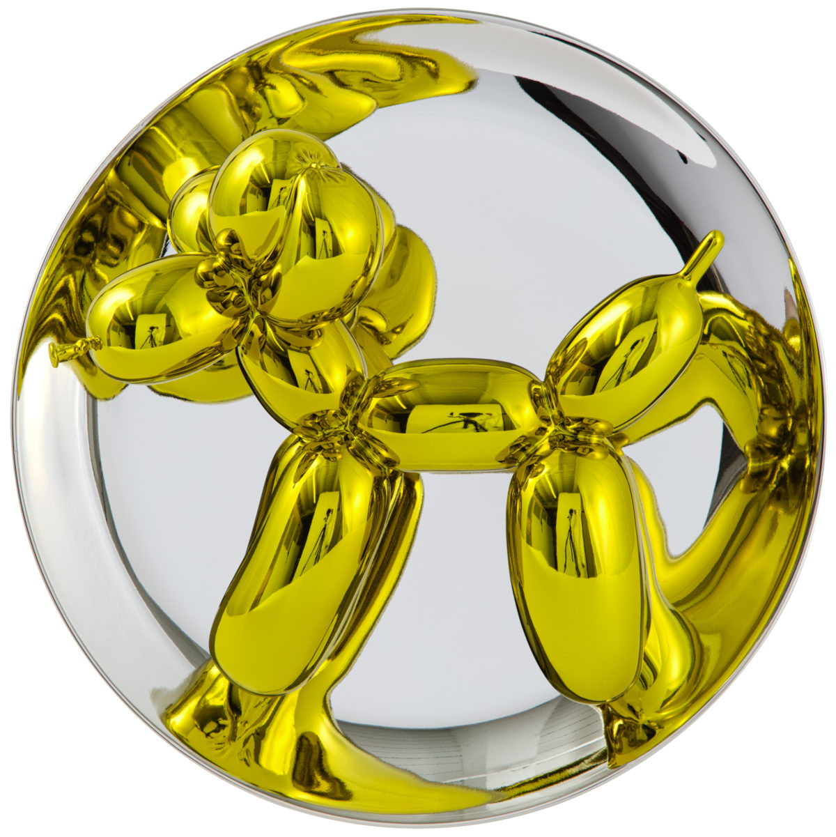 KOONS_Balloon dogs plate jaune copyright © Jeff Koons