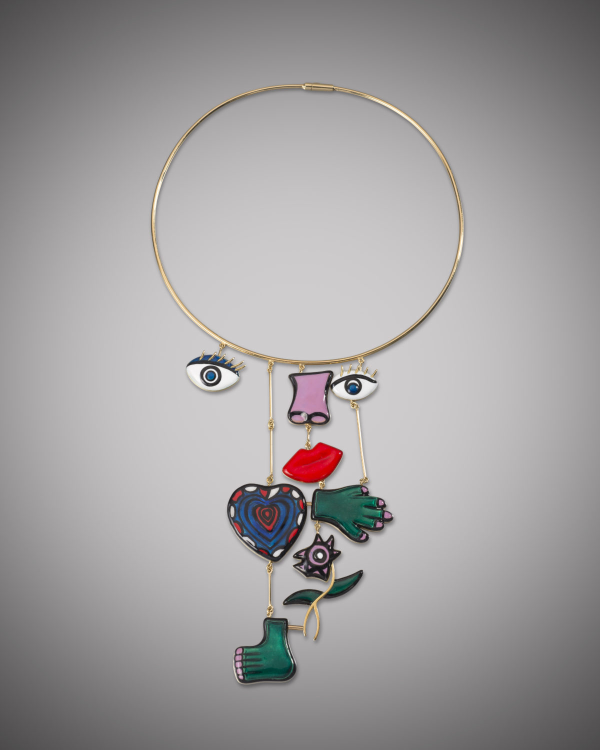 Niki de Saint Phalle, Assemblage Necklace, 1974-2015