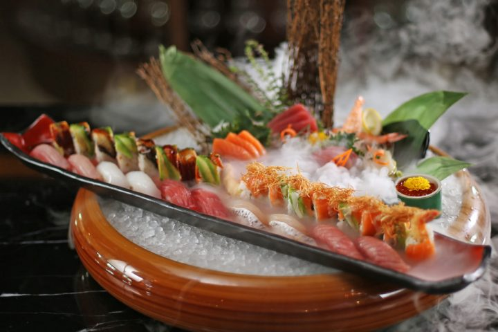 Sushi Platter - ONI Japanese Restaurant and Lounge