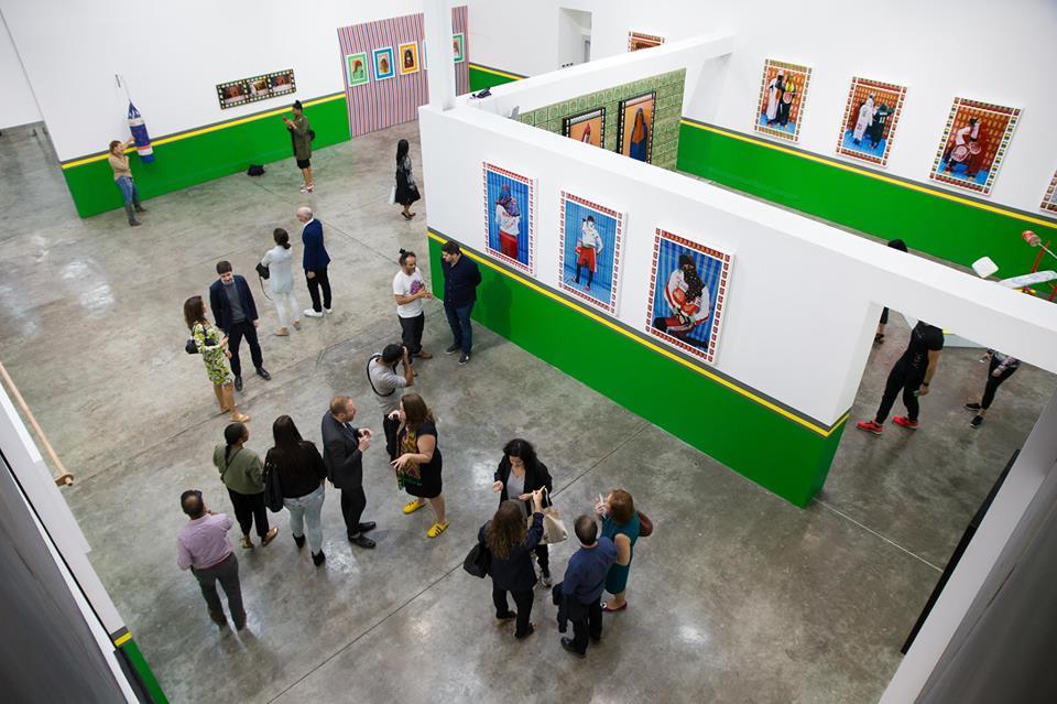 Art Week Alserkal Avenue galleries night