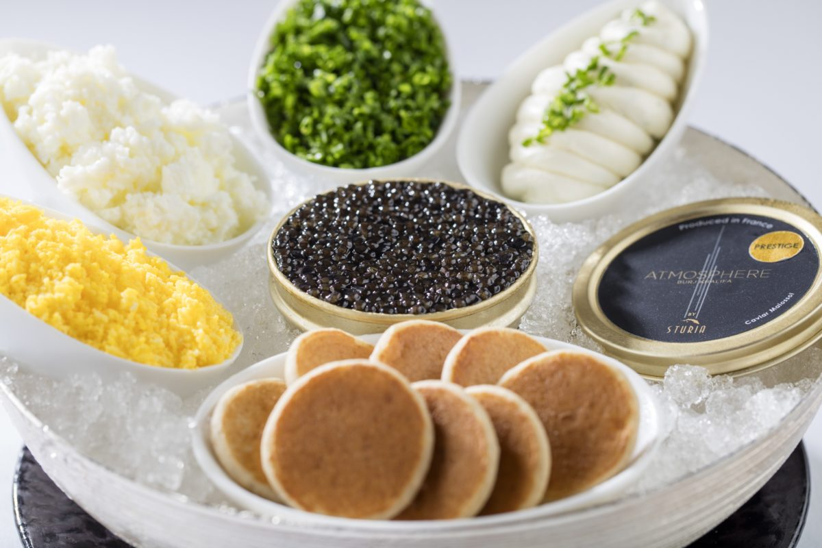 At.mosphere Restaurant, Burj Khalifa | Discover the secrets of Caviar | Luxury Degustation Menu | The Luxe Diary