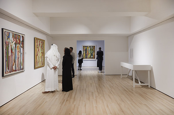 Barjeel Foundation Paul Guiragossian Exhibition this April in The Luxe Diary