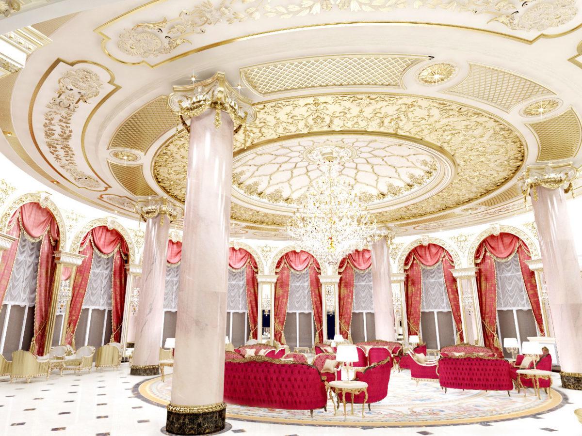 Lobby Lounge   Luxury Hotel Emerald Palace Kempinski Dubai