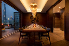 Morimoto Dining Area | The Luxe Diary Review | Dubai Event Launch Sushi