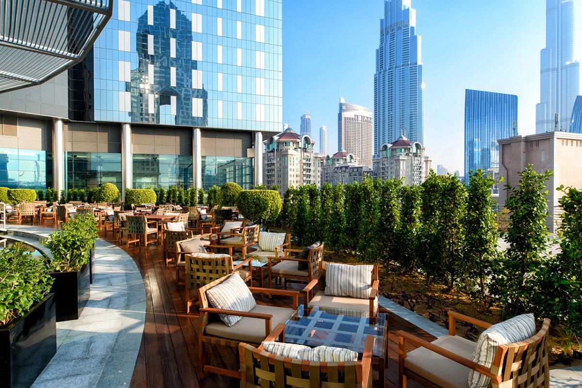 Outdoor Terrace | New Launch Ladies Night Fogo de Chão in Dubai | The Luxe Diary