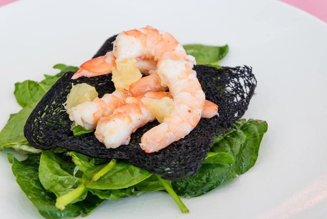 Pierre Gagnaire | New Restaurant Open Launch Dubai | The Luxe Diary | Shrimps