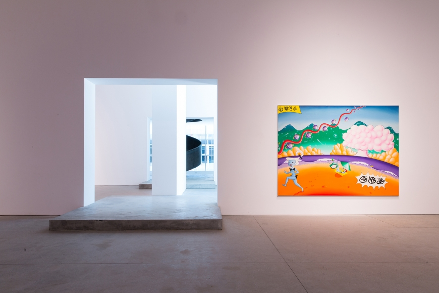 Leila Heller Gallery presents the first solo exhibition in the UAE by Kenny Scharf | The Luxe Diary