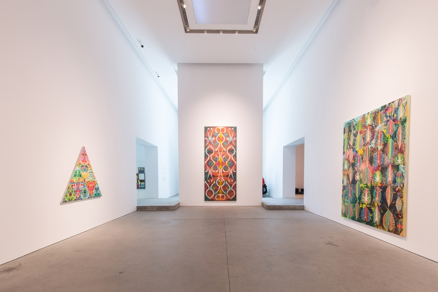 Leila Heller Gallery presents the first solo exhibition in the Middle East by Philip Taaffe | The Luxe Diary