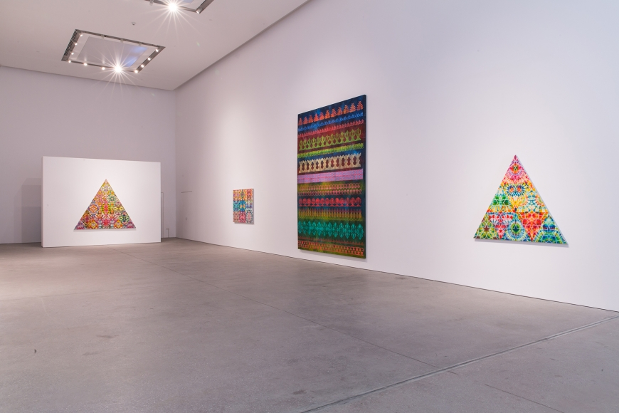 Leila Heller Gallerypresents the first solo exhibition in the Middle East by Philip Taaffe | The Luxe Diary