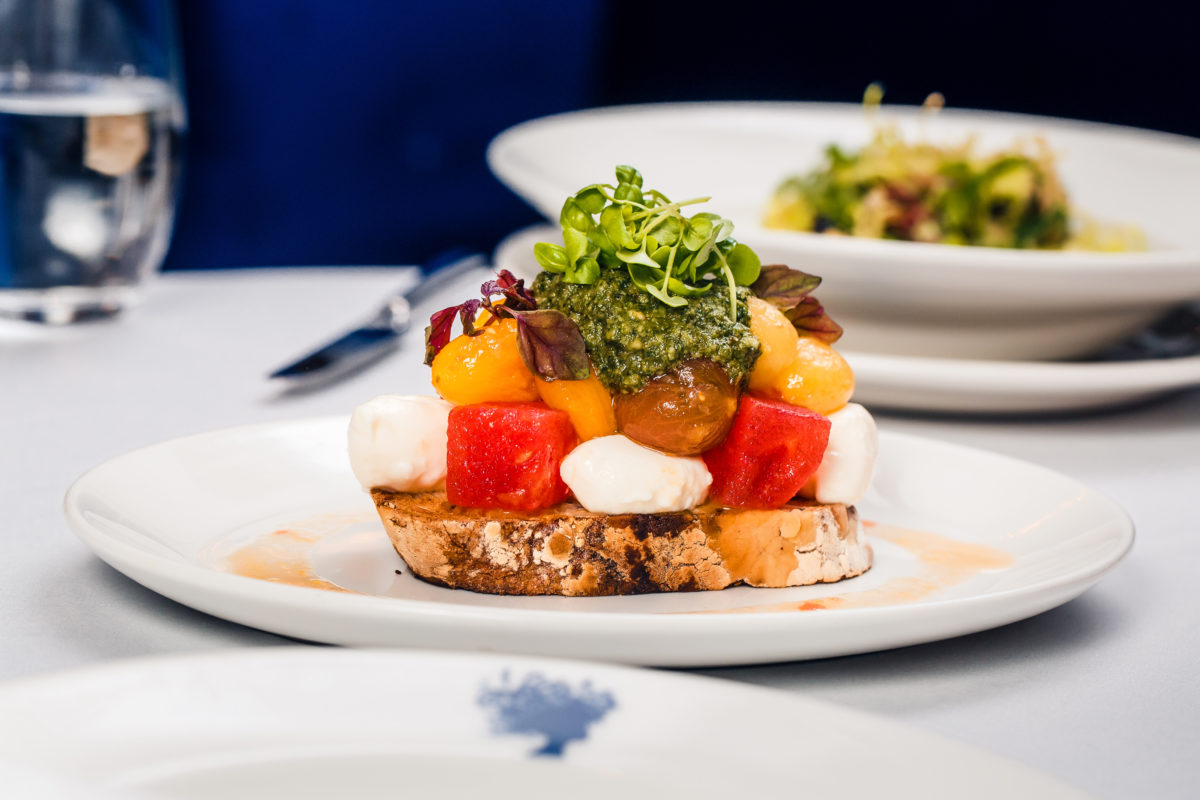 Tomato Salad | Bagatelle Announces One-Off Brunch to Close the Season | The Luxe Diary