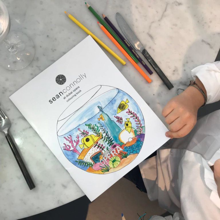 The GARDEN BRUNCH at Sean Connolly at Dubai OPERA | The Luxe Diary Review Kids
