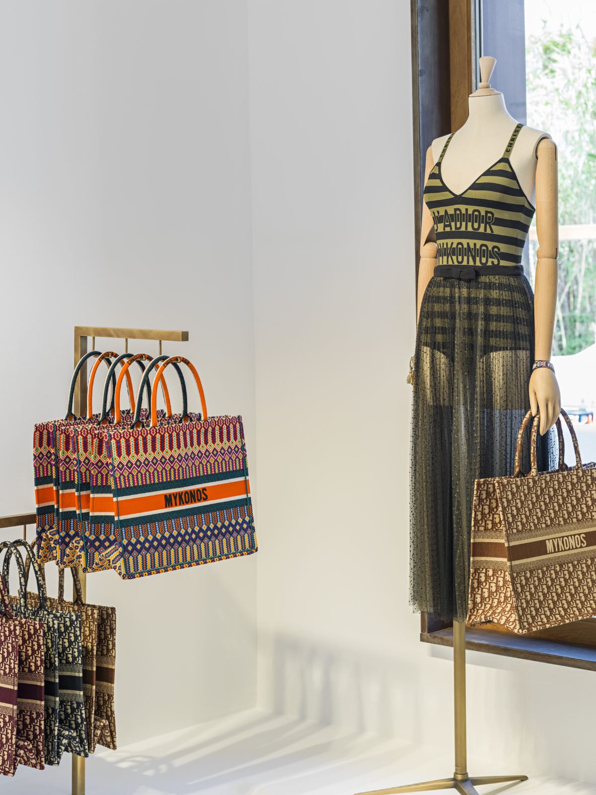Dior Pop up Mykonos Summer | The Luxe Diary