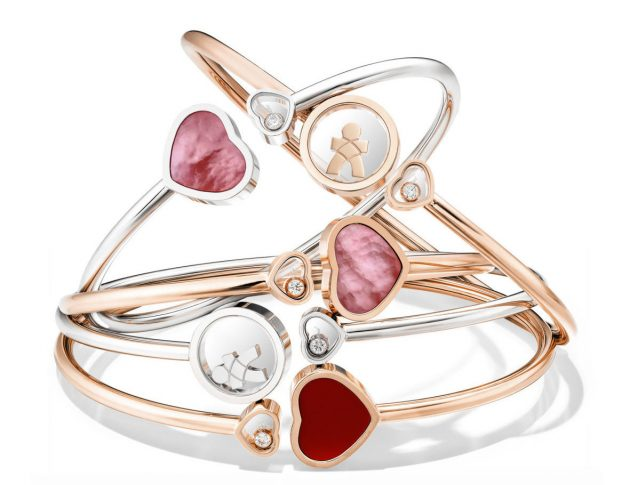 Chopard's Happy Hearts Bangle does great things! | The Luxe Diary
