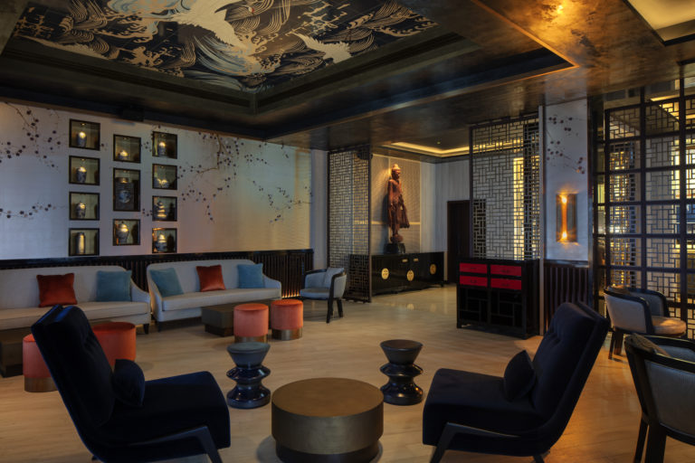 Buddha Bar Beach Abu Dhabi | The Luxe Diary Review | St Regis Saadiyat Island Lounge