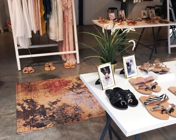Bohemian Greek & Kate Chad Design Pop Up | The Luxe Diary
