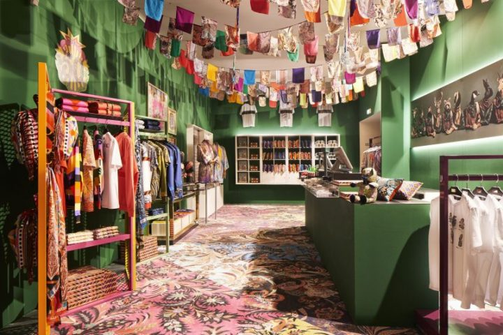 Etro Launches 'Generation Paisley' in Milan until 14 October | The Luxe Diary