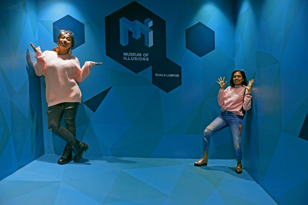 Museum of Illusions Dubai Luxe Diary